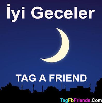Good Night in Turkish language