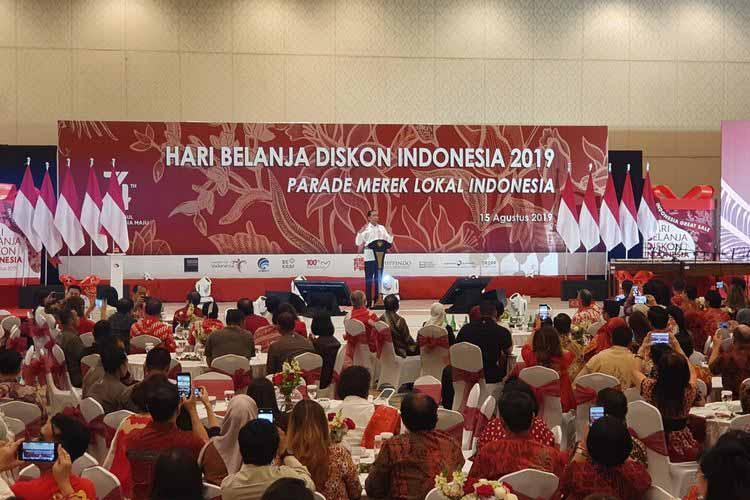 Jokowi Hari Belanja Diskon Indonesia