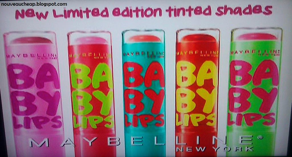 And The Two Maybelline Baby Lips Limited Edition Quot Mystery