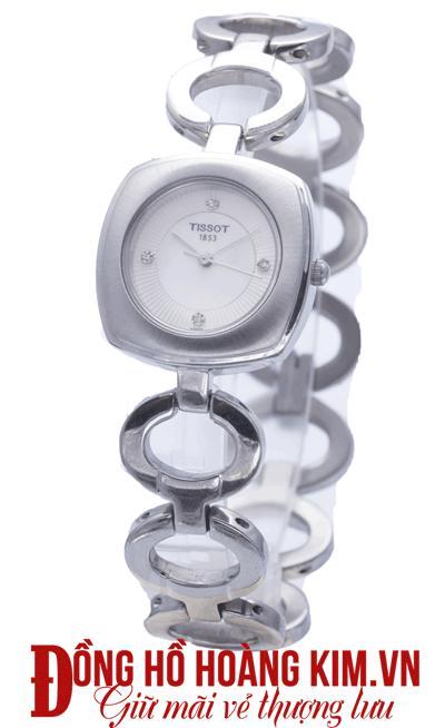 đồng hồ tissot nữ dây sắt giá rẻ
