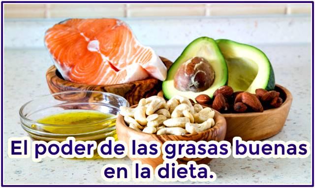 Descubre el poder de las grasas buenas en tu alimentación diaria