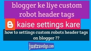 blogger me custom robots header tags settings kaise kare,  Blogger Me Custom Robots Header Tags Setup Kyu Aur Kaise Kare?