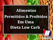 Alimentos Permitidos & Proibidos  Em Uma Dieta Low Carb