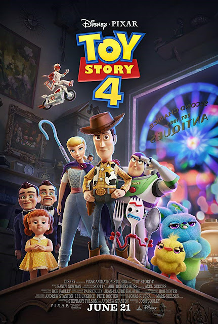 Sinopsis Film Animasi Toy Story 4 (2019)