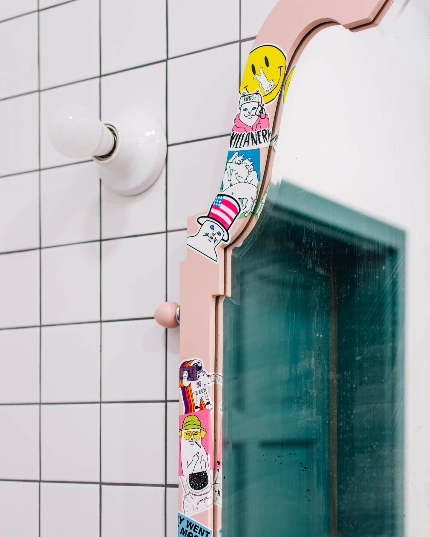 nietypowe lustro łazienkowe