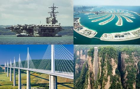 Dünyanın 4 Mühendislik Harikası Yapı