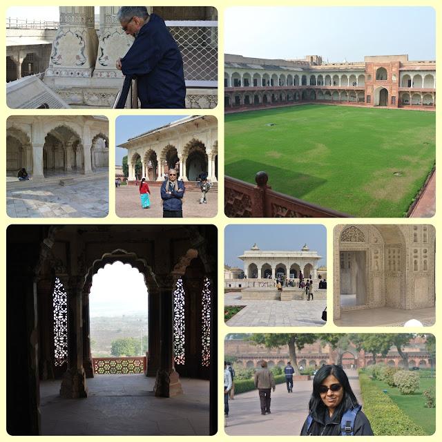 Taj Mahal, Agra, Agra Fort