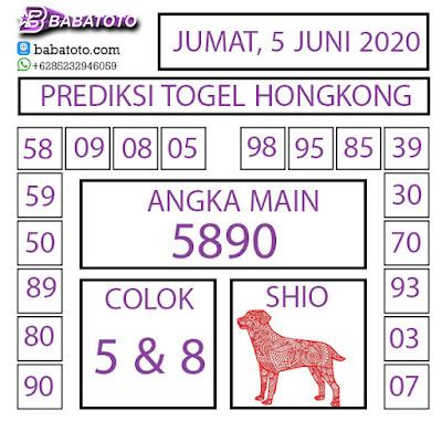 PREDIKSI TOGEL HONGKONG 5 JUNI 2020