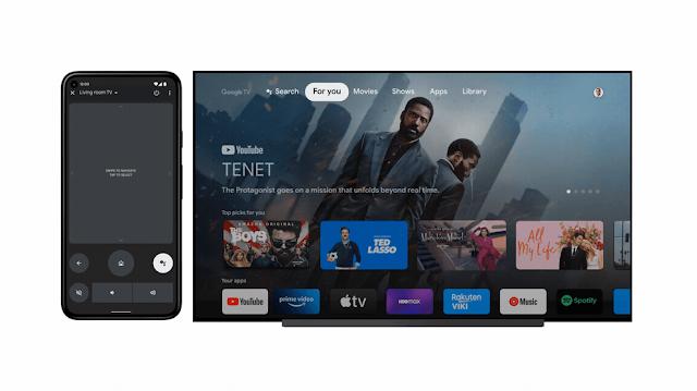 أطلقت Google تطبيقًا جديدًا عن بُعد لأجهزة Android TV و Google TV
