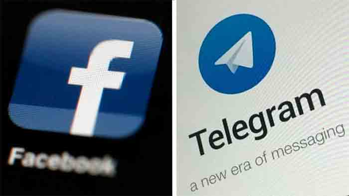News, Russia, Mosco, World, Facebook, Social Media, Fine, Facebook and Telegram, Banned content,