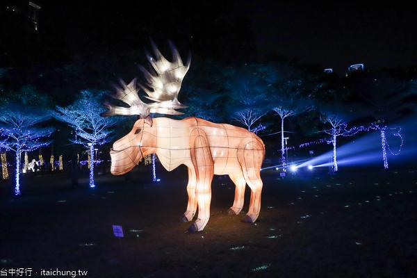 台灣燈會副展區台中文心森林公園,12/21-2/23戽斗星球童趣樂園