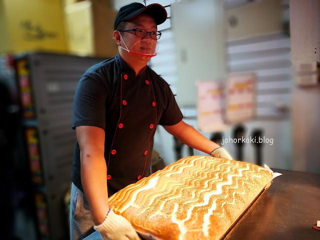 Tamsui-Castella-Cake-緣味古早味現烤蛋糕