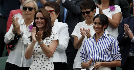 Pearls for a Day of Duchesses at Wimbledon