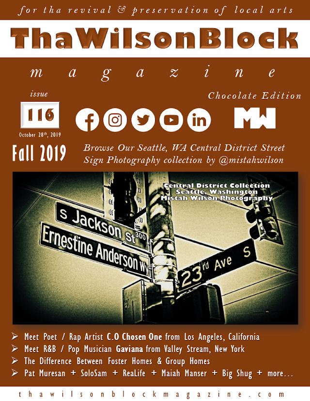 ThaWilsonBlock Magazine Issue116 Chocolate Edition (Fall 2019)