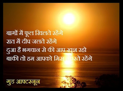 Good Afternoon Shayari Images Hindi