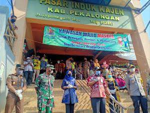 With Forkompinda, Dandim Pekalongan pioneered movement of Health Protocol discipline