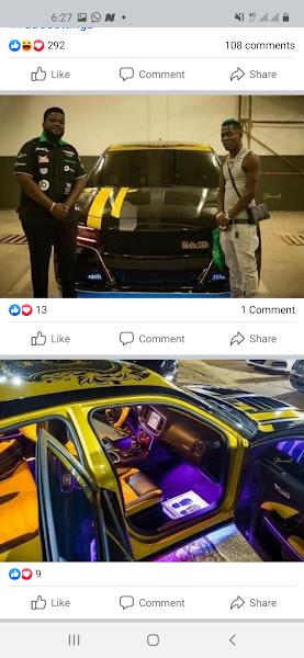 Shatta wale car