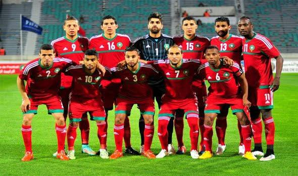 تشكيل المغرب ضد موريتانيا عبر سوفت سلاش