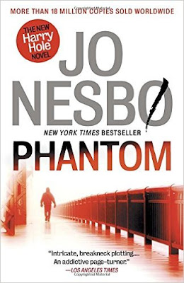 Phantom by Jo Nesbo (book cover)