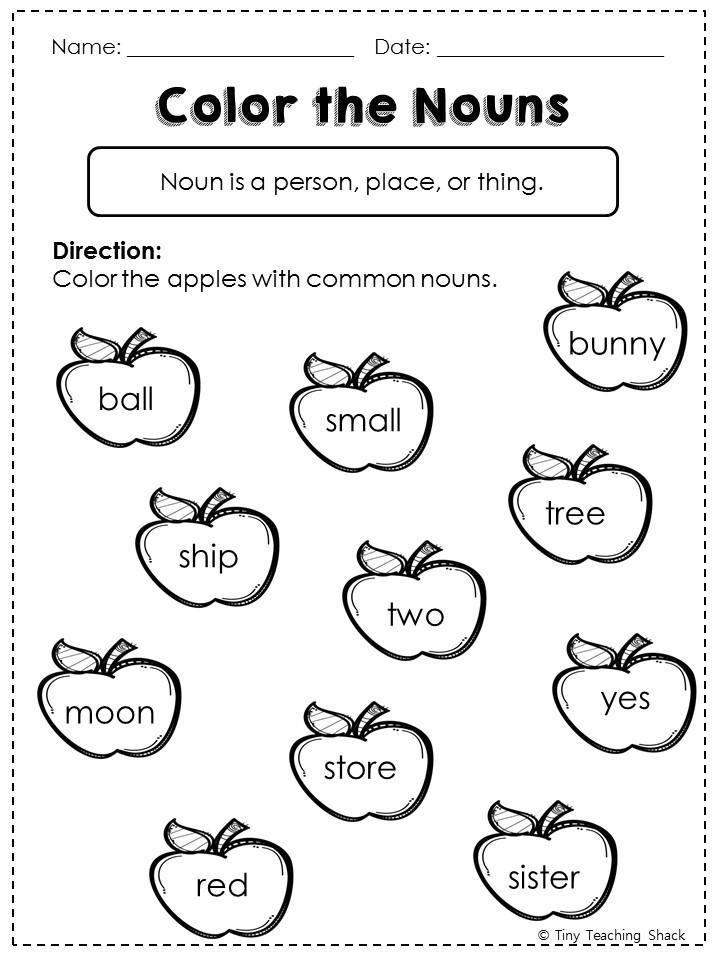 Tiny Teaching Shack: Nouns- common, proper, possessive