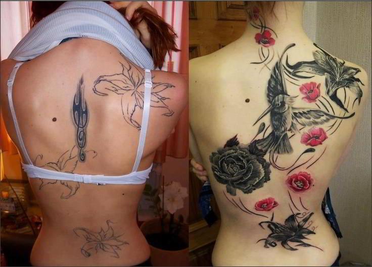 Tapar un tatuaje con otro y Como Hacerlo bien