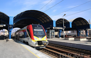 New Skopje-Bitola Train Put into Use