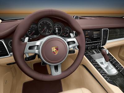 2017 Porsche Panamera stearing wheel