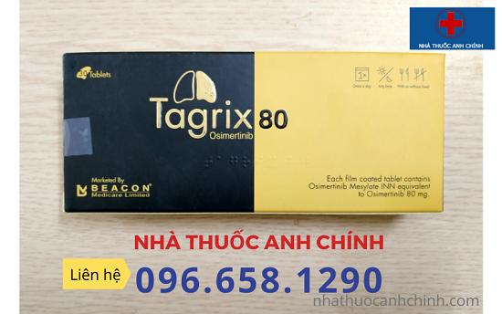 Tagrix/Osimertinib 80mg điều trị ung thư phổi ,chống di căn não