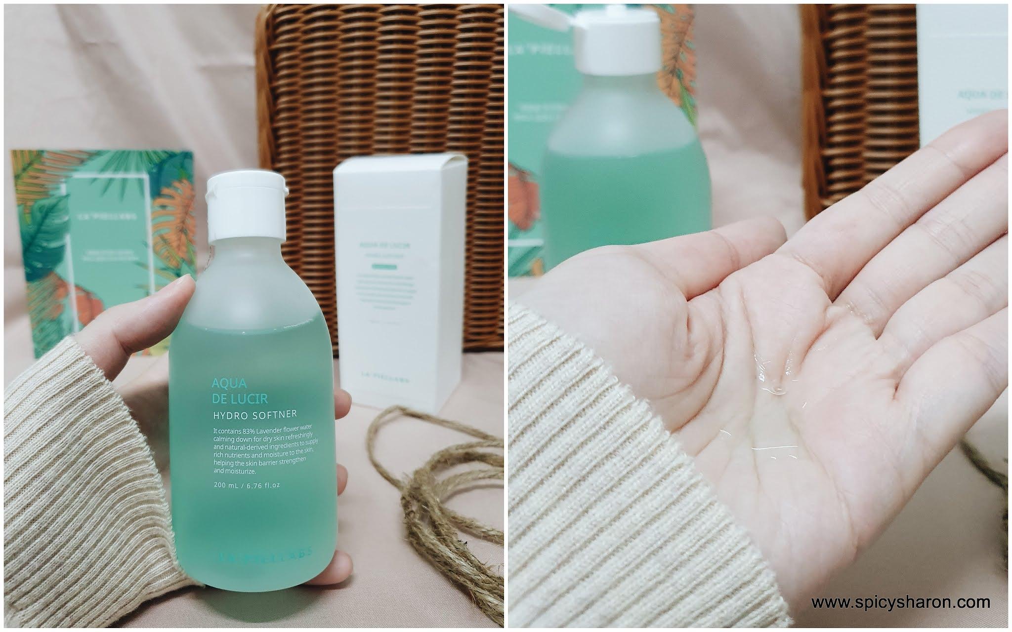 Product Review : La' Piel Labs Aqua De Lucir Hydro Softner & Hydro Expert Gel Cream