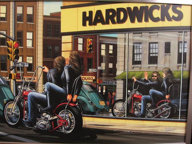 David Mann Biker Art