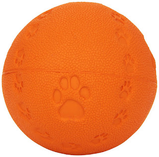 Spielball mit Quietschie