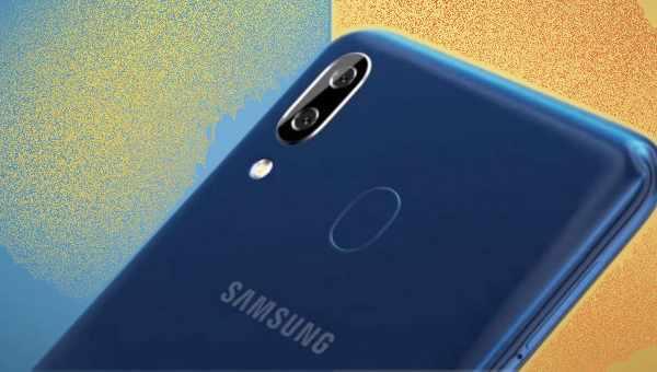 mengaktifkan fungsi gesture fingerprint Galaxy A20