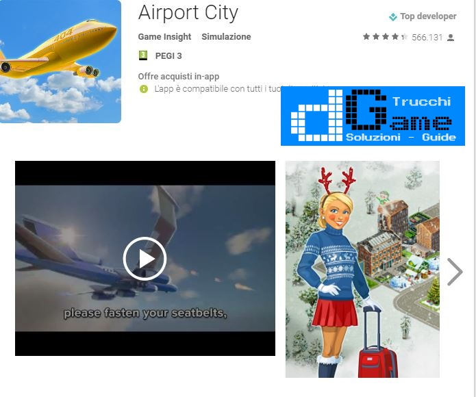 Trucchi Airport City Mod Apk Android v4.11.5