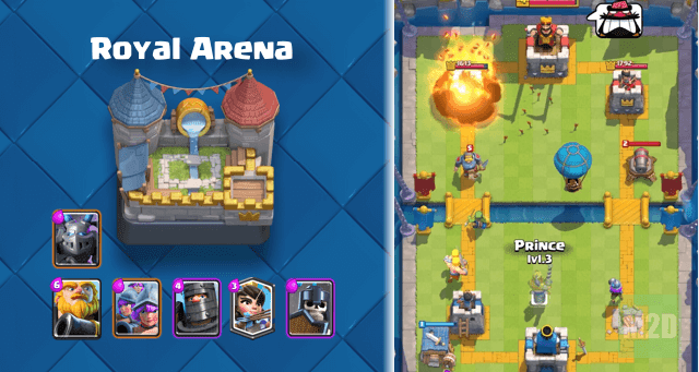 Royal Arena Mega Minion