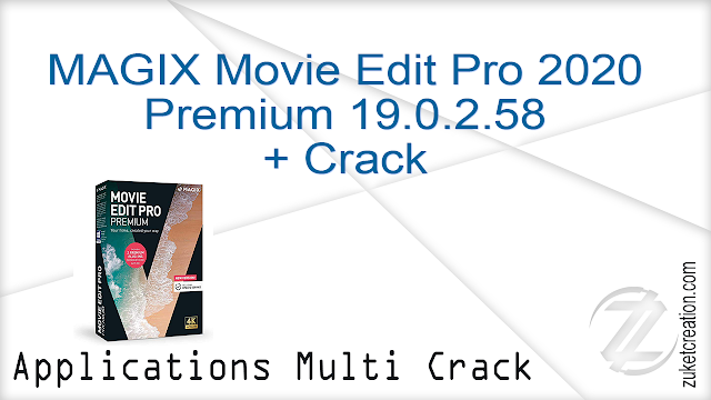 MAGIX Movie Edit Pro 2020 Premium 19.0.2.58 + Crack