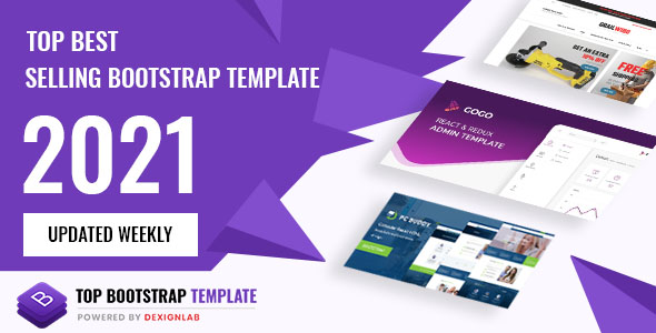 Top Rated Best Creative HTML/Bootstrap Template 2021 - Updated Weekly