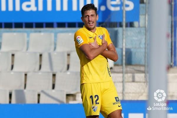 """Pablo Chavarría - Málaga -: """"Me hace ilusión seguir aquí"""""""