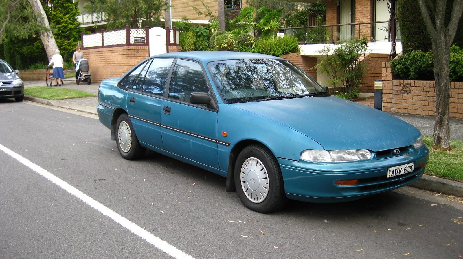 Aussie Old Parked Cars 1993 Toyota Lexcen Csi Sedan