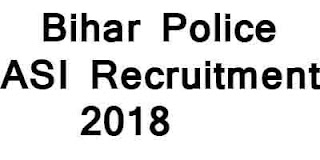 Bihar Police ASI Recruitment 2018