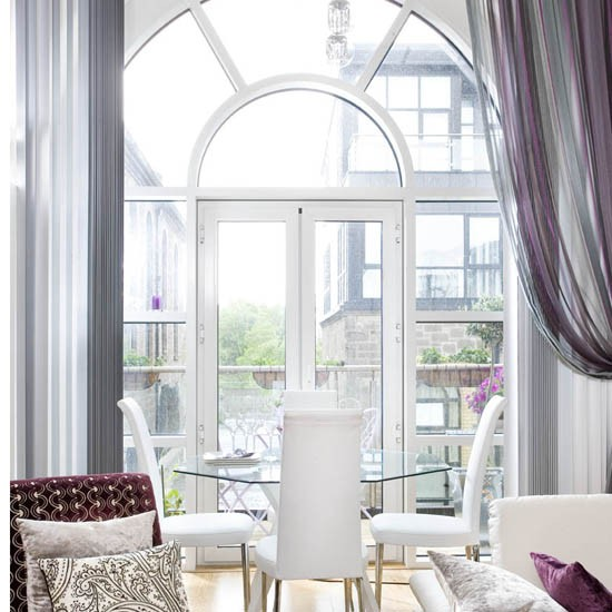 Dining Room Window: The Peak Of Très Chic: Northern Ireland Loft Tour