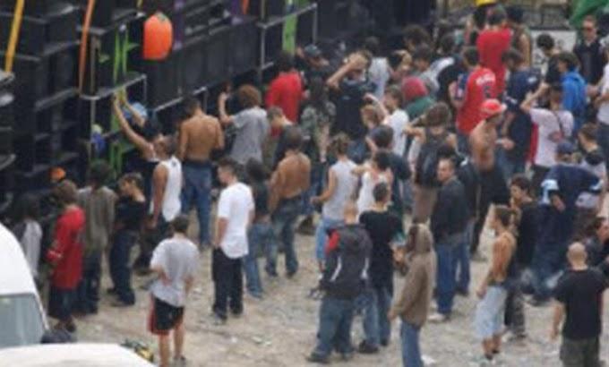 Maleo, rave party con oltre 700 persone senza mascherina