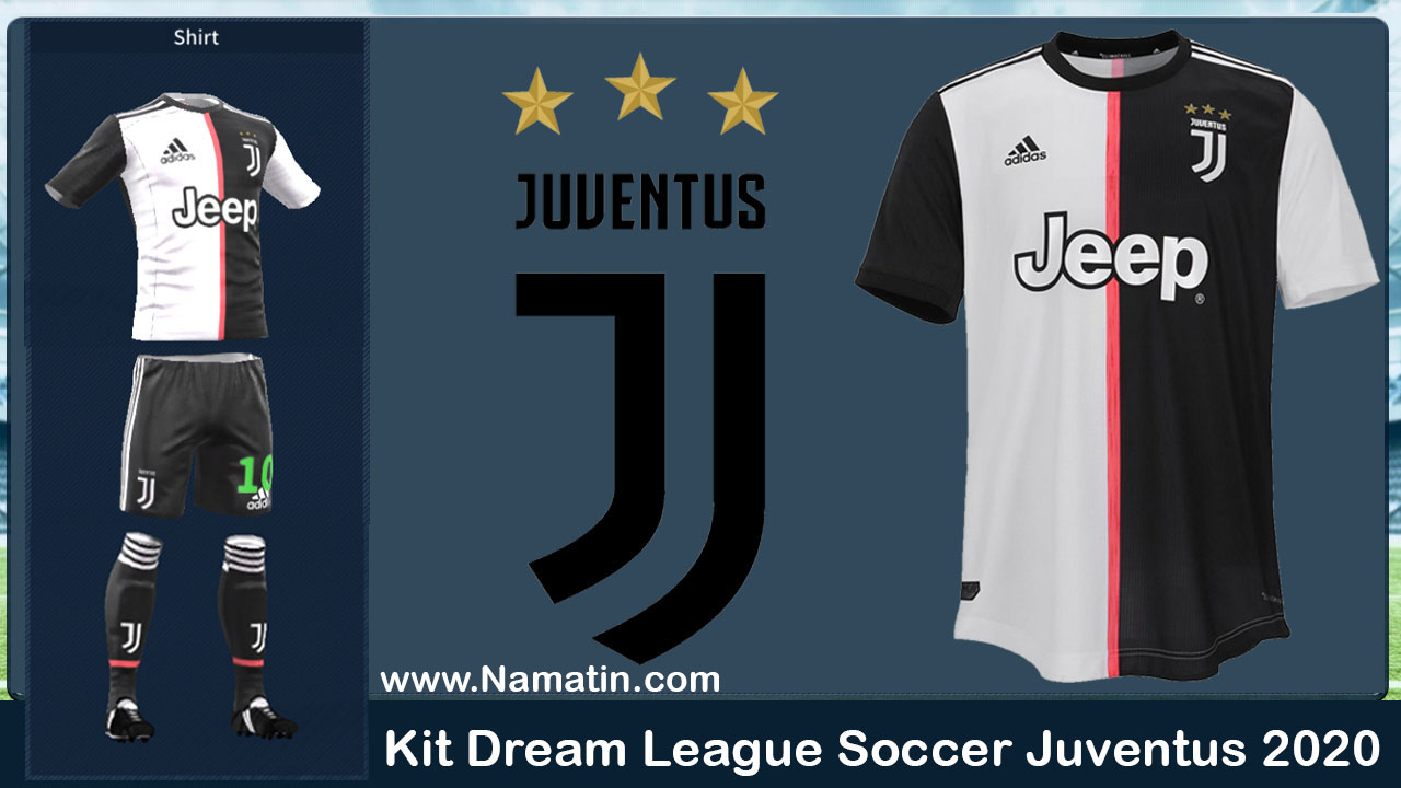 new arrival 61199 e9e80 Logo & Kit Dream League Soccer Juventus 2019-2020 ~ Kumpulan ...