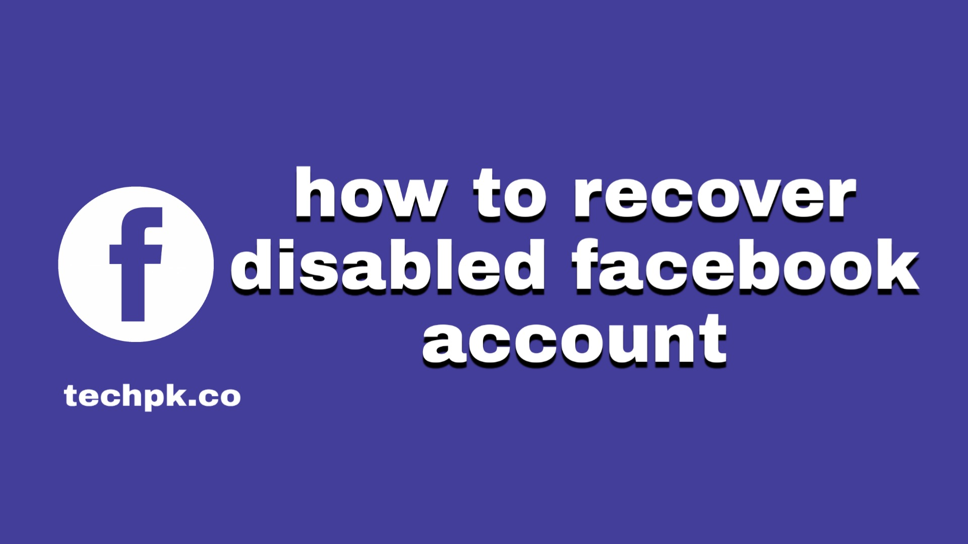 how to recover disabled facebook account 2021 [my disabled facebook account]