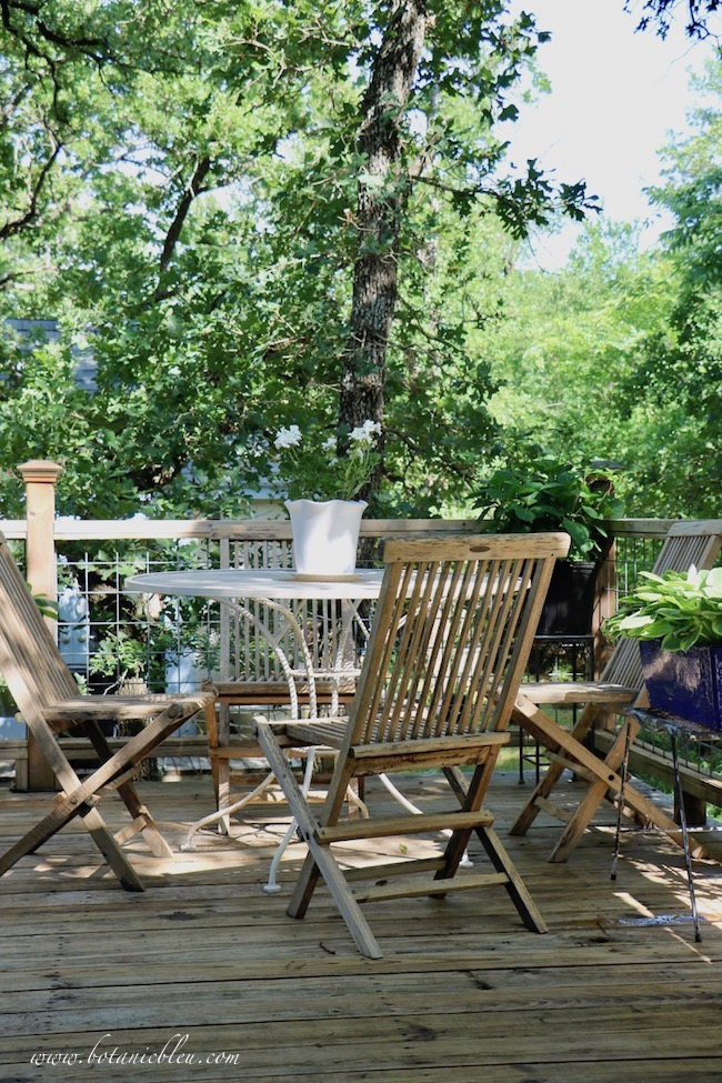 Create an area for outdoor dining to get your porch and deck ready for summer