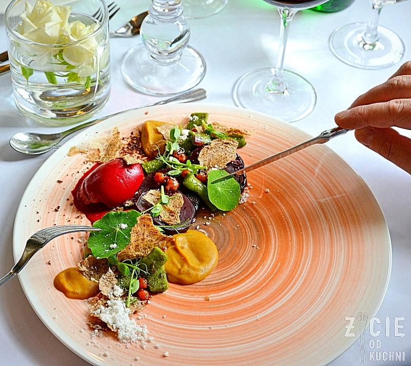 restaurant week, restaurant week polska, restauracja biala roza, buraki, sorbet z burakow, wegetarianskie, krakow, festiwal, zycie od kuchni