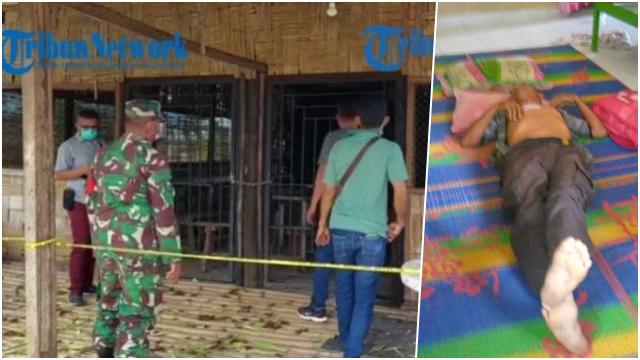 Pensiunan Polisi Terkapar Ditikam Oknum TNI di Lapo Tuak di Deli Serdang