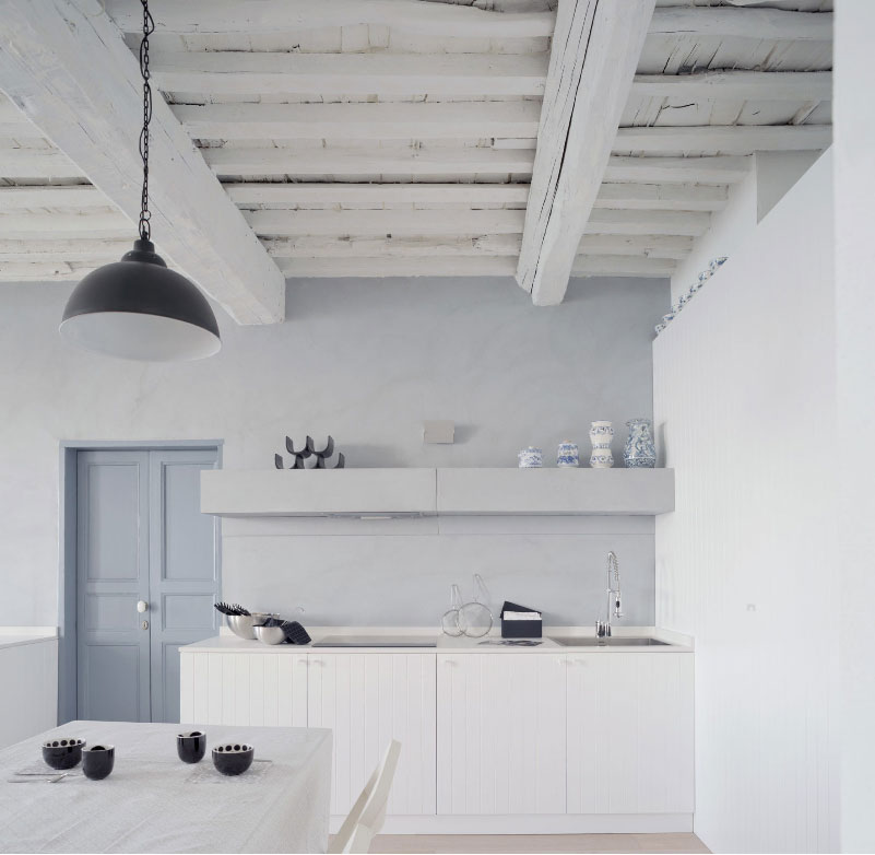 Ristrutturazione di un appartamento nel borgo di Camogli