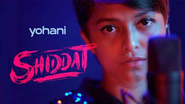 female version shiddat title track yohani