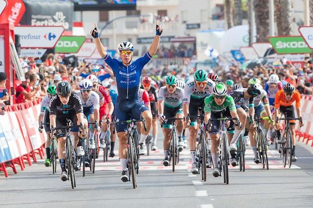 Fabio Jakobsen venceu sua segunda prova nesta edição da Vuelta a España