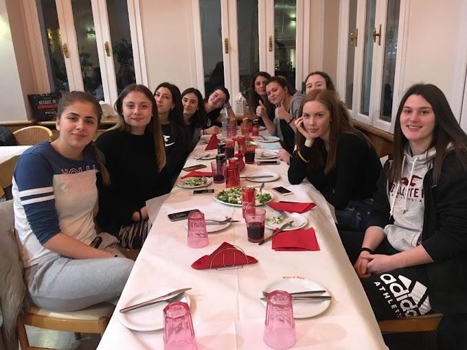 Δείπνο ενόψει των τελικών φάσεων σε κορασίδες και νεάνιδες του ΠΑΟΚ-Φωτορεπορτάζ